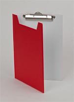 Podložka psací s klipem a zakrývací deskou PANTAPLAST PVC A5 tmavě modrá-světle modrá