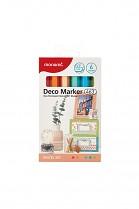 Popisovač akrylový MONAMI 463 DECO MARKER hrot 0,7mm PASTEL SET 6- sada