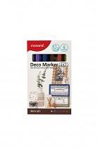 Popisovač akrylový MONAMI 463 DECO MARKER hrot 0,7mm RICH SET 6- sada