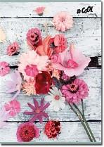 """Sešit """"Vintage Flower"""" COOL by Victoria A5 linkovaný 96 listů mix motivů"""
