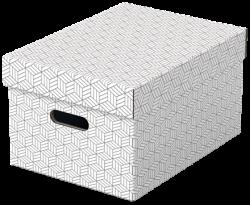 Úložný box Esselte Home střední 3 kusy bílý