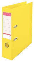 Pákový pořadač  celoplastový A4 75mm  Žlutá