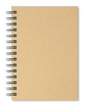 Skicák A4 Artgecko Krafty 150g/m2 40 bílých listů spirála na výšku