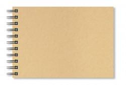 Skicák A4 Artgecko Krafty 150g/m2 40 bílých listů spirála na šířku