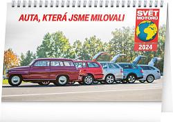 Kalendář stolní Svět motorů