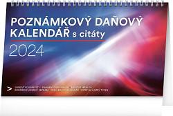 Kalendář Poznámkový daňový s citáty