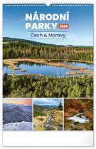 Kalendář nástěnný Národní parky Čech a Moravy