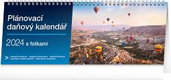 Kalendář stolní Plánovací daňový s fotkami