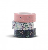 Filofax Washi páska GARDEN sada 3 barev