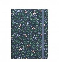 Poznámkový blok Filofax Notebook GARDEN A5 Dusk