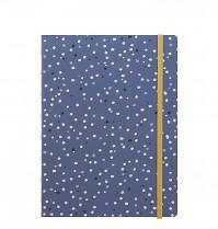 Poznámkový blok Filofax Notebook INDIGO A5 Snow