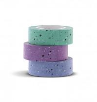 Filofax Washi páska EXPRESSIONS sada 3 barev