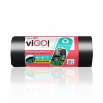 Odpadkové pytle Alufix 150l, 10ks 35µm 78x105cm černé