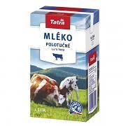Mléko TATRA trvanlivé 1 l polotučné