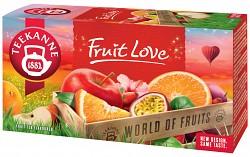 Teekanne 20x2,5g Fruit Love ovocný čaj