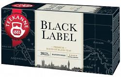 Teekanne 20x2g Black Label černý čaj