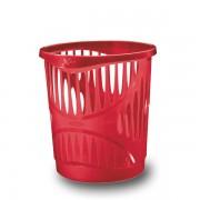 Odpadkový koš Esselte X-Bin 13,5 L trans.červená DOPRODEJ!