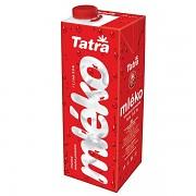 Mléko TATRA s uzávěrem 1L plnotučné