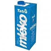 Mléko TATRA s uzávěrem 1L polotučné
