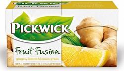 Pickwick 20x2g Zázvor, citron a citronová tráva ovocný čaj