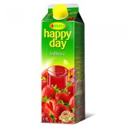 Happy Day 50% nektar 1L jahoda