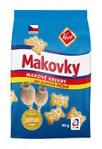 Sušenky TUC mini makové 100g