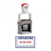 Razítko Trodat datumka + ZAPLACENO 5430/L1 červený/modrý tisk