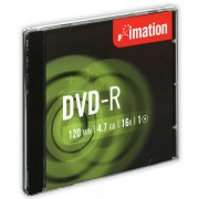 DVD-R Imation 16x 4,7GB 10 ks Jewel Silver DOPRODEJ!!!