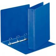Prezentační kroužkový pořadač Leitz SoftClick Modrý, 4 D- kr, 40 mm