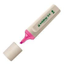 Zvýrazňovač Edding Ecoline 24 klínový hrot 2-5 mm růžový