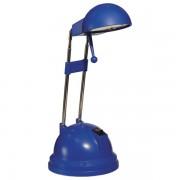 Lampa stolní Pony halogenová 20 W modrá