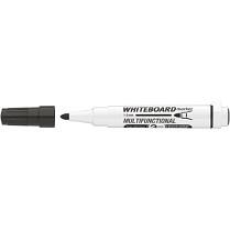 Popisovač bílé tabule ICO Magnetic 1-3 mm černý