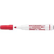 Popisovač bílé tabule ICO Magnetic 1-3 mm červený