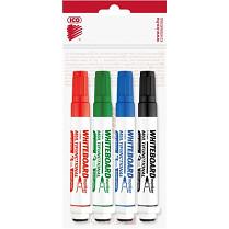 Popisovač bílé tabule ICO Magnetic 1-3 mm 4-sada