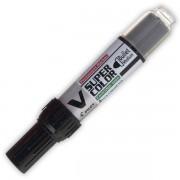 Popisovač perm. Pilot V-Super Color 2,3 mm černý