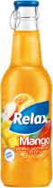 RELAX nápoj 24x250ml mango - sklo