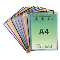 Závěsné kapsy Tarifold Technic 10 kapes mix barev