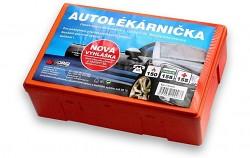 Lékárnička do auta v plastovém boxu  - nová - DO 2023