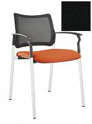Židle jednací 2170 Rocky NET C Termín dodání: 10_dní D02 - černá