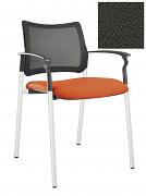 Židle jednací 2170 Rocky NET C Termín dodání: 10_dní D05 - šedá