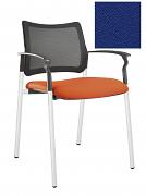 Židle jednací 2170 Rocky NET C Termín dodání: 10_dní D04 - modrá