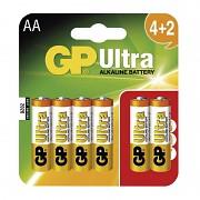 Baterie GP Ultra Alkaline 4 ks tužkové AA 1,5 V