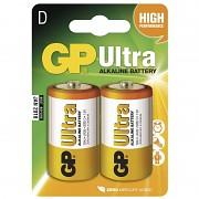 Baterie GP Ultra Alkaline 2ks  velké monočlánky 1,5 V