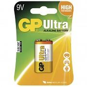 Baterie GP Ultra Alkaline 1 ks  9V