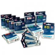 Dymo páska D1 9mm x 7m  modrý tisk bílá páska