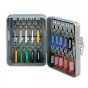 Schránka na klíče DONAU kovová nástěnná 20 klíčů šedá