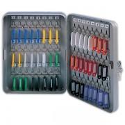 Schránka na klíče DONAU kovová nástěnná 48 klíčů šedá