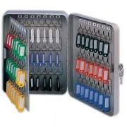 Schránka na klíče DONAU kovová nástěnná 93 klíčů šedá