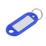 Visačka na klíče malá s kroužkem 5cm mix barev