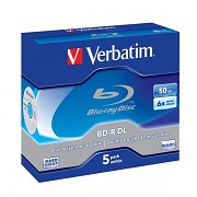 BD-R Verbatim BLU-RAY 2x 25GB 5 ks Jewel